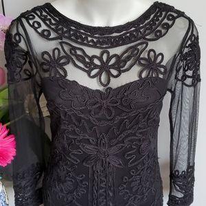 JS Collections black dress, 6